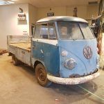 SOLD ! Volkswagen T1 pick up 1966 PATINA restauratie project info@jaapbergmankevers.nl (klik hier)