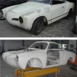 Te koop: Vw Karman Ghia 1500 1965 (Project) #Volkswagen 0031 547 261515